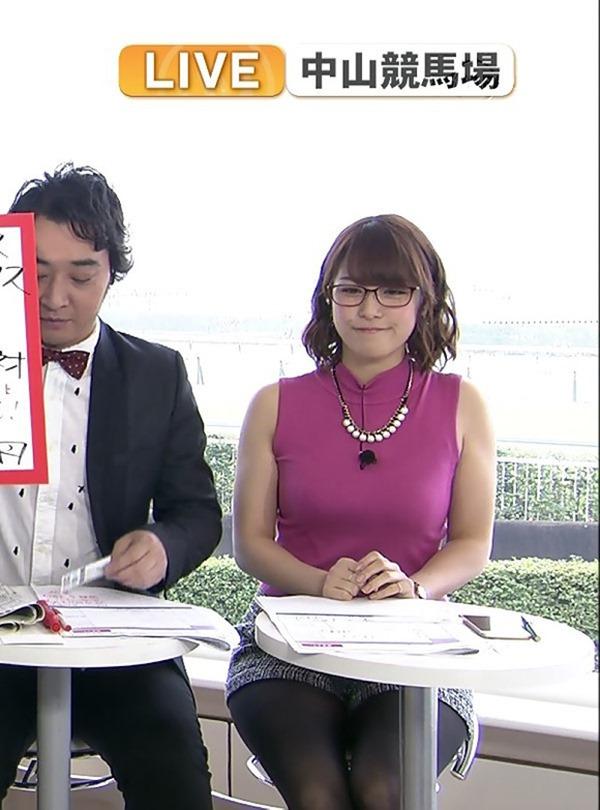 鷲見玲奈アナのむっちりしたワキ肉エロ画像5