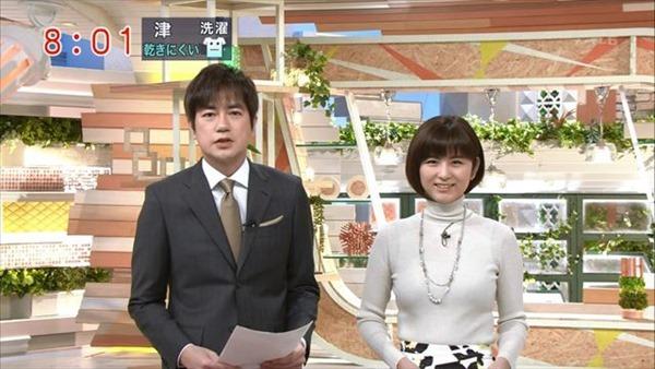テレビ朝日の女子アナ宇賀なつみのアイドル顔負けの可愛いルックステレビキャプ画像5