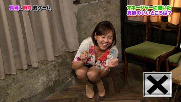 高橋真麻アナ「ぷっすま」でピチピチ衣装エロ画像6