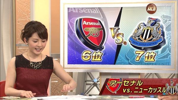 深津瑠美アナの着衣巨乳エロ画像6
