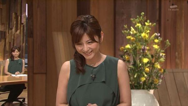 テレビ朝日の女子アナ宇賀なつみのアイドル顔負けの可愛いルックステレビキャプ画像6
