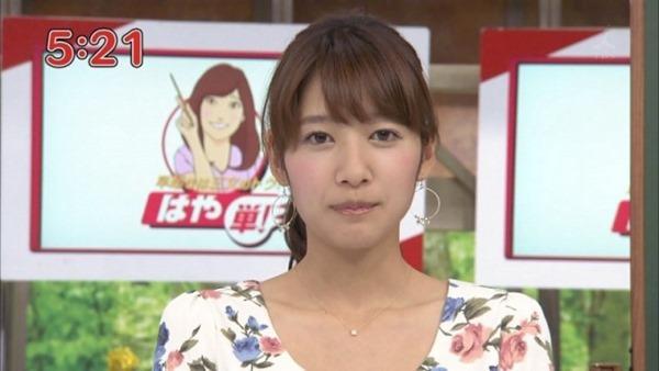ムラムラする女子アナ吉田明代エロ画像7