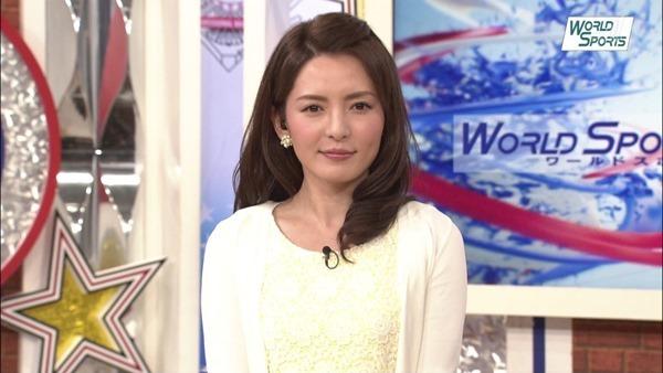 深津瑠美アナの着衣巨乳エロ画像7