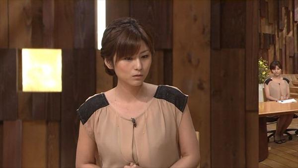 テレビ朝日の女子アナ宇賀なつみのアイドル顔負けの可愛いルックステレビキャプ画像7