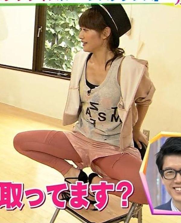 ムラムラする女子アナ吉田明代エロ画像8
