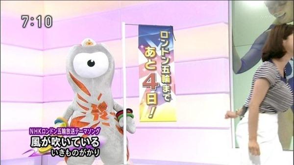 杉浦友紀アナのムッチムチ着衣エロ画像8