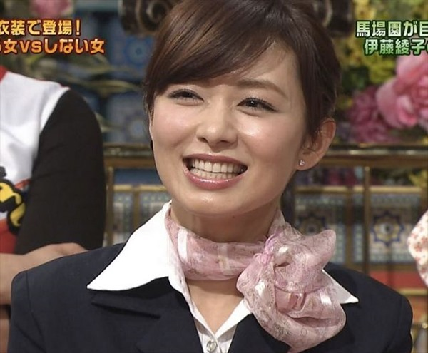 9伊藤綾子アナウンサーのテレビキャプ画像GIF5