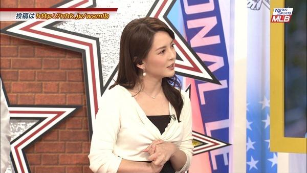 深津瑠美アナの着衣巨乳エロ画像9