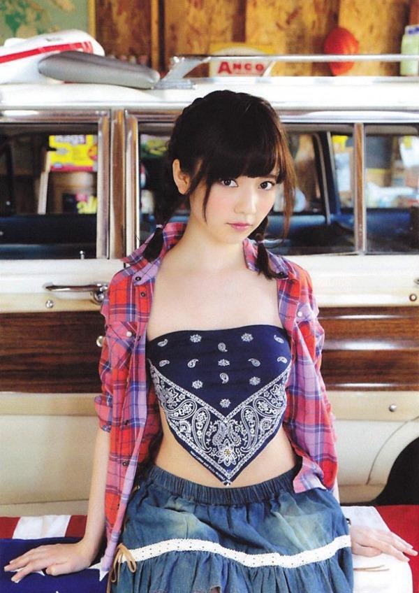 AKB48ぱるる島崎遥香のグウカワ水着エロ画像1