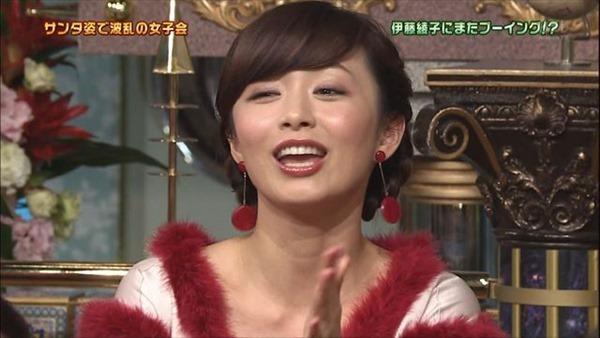伊藤綾子アナウンサーのテレビキャプ画像GIF2