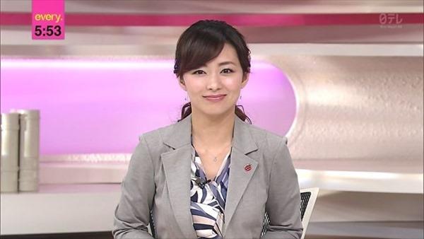 伊藤綾子アナウンサーのテレビキャプ画像GIF3