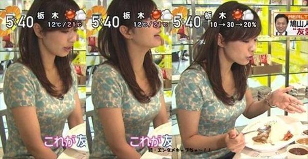 伊藤綾子アナウンサーのテレビキャプ画像GIF4