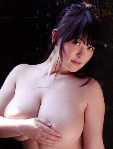(アラサー28才グラドル・柳瀬早紀)(´∀`)100㎝Iカップロケット乳お乳美巨乳えろ写真☆