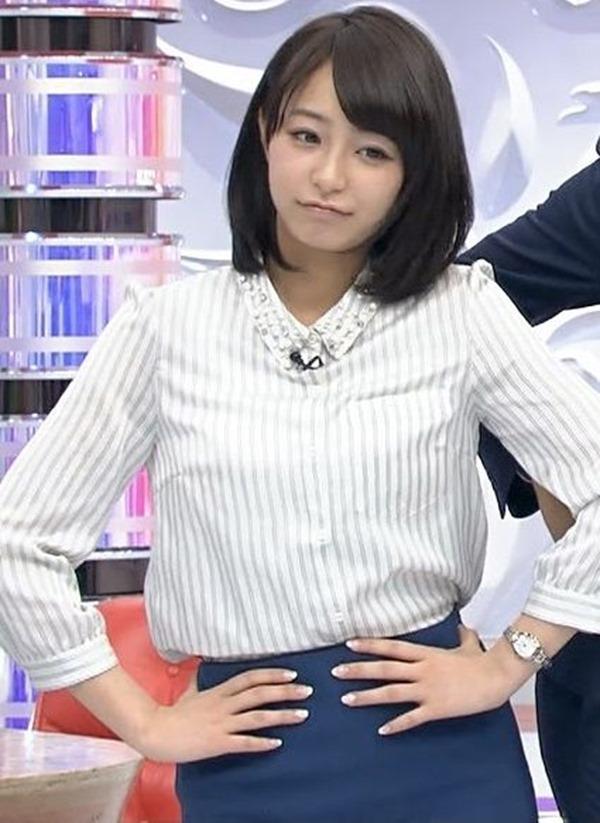 TBS宇垣美里アナの巨乳エロ画像10