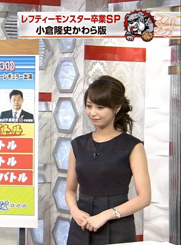 巨乳アイドル並みTBS宇垣美里アナ着衣エロ画像14