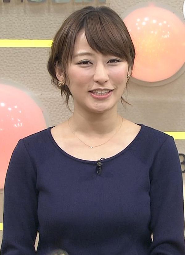 元TBSアナ枡田絵理奈ブルンブルンおっおぱいエロ画像17