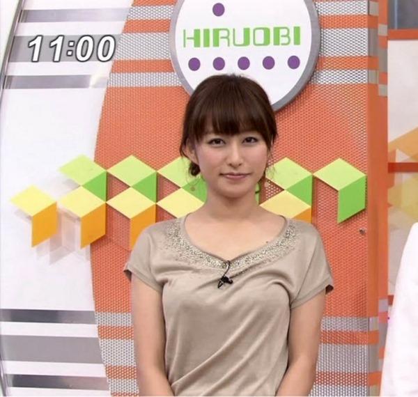 元TBSアナ枡田絵理奈ブルンブルンおっおぱいエロ画像20