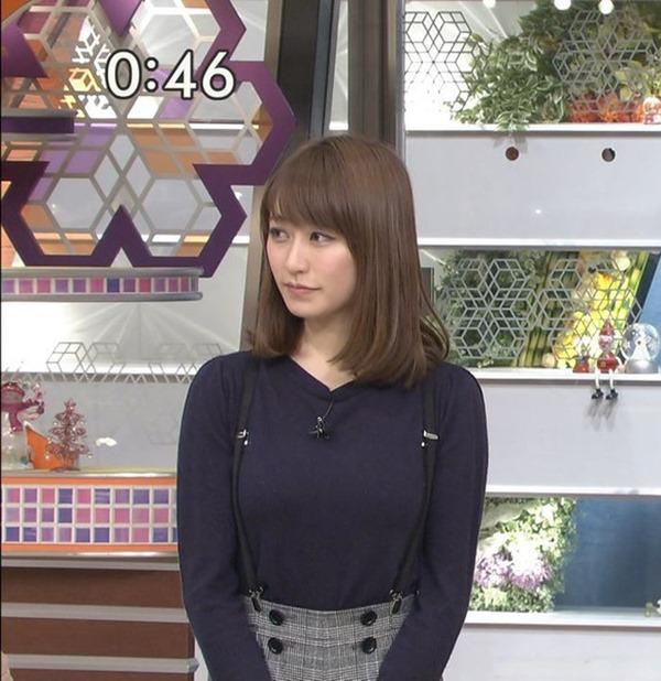 元TBSアナ枡田絵理奈ブルンブルンおっおぱいエロ画像
