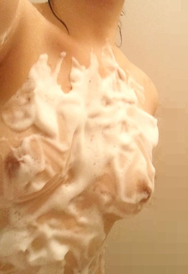 自撮り写メったら入浴中なうツイートTwitterエロ画像16