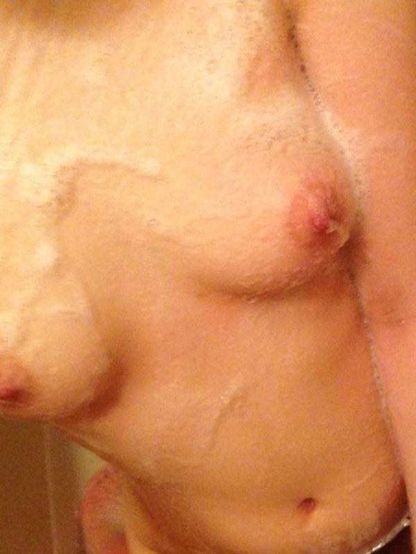 自撮り写メったら入浴中なうツイートTwitterエロ画像8