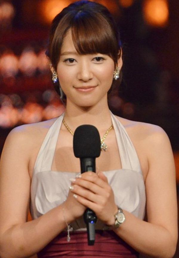 ムラムラする女子アナ吉田明代エロ画像