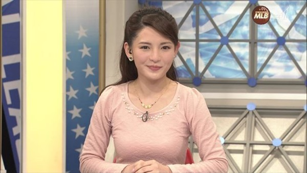 深津瑠美アナの着衣巨乳エロ画像