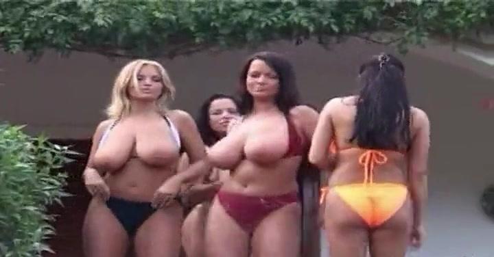 ムチムチ爆乳美女たちがオッパイ丸出しでセクシーダンス!【ぽっちゃり】