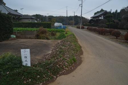 20151202頼政塚と馬見塚01