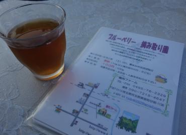 麦茶サービス