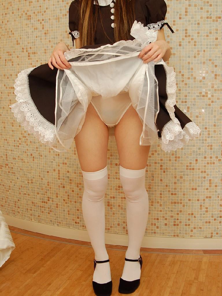 挑発 スカート49