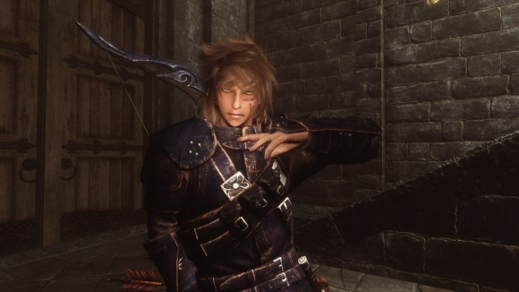 skyrim NPCの髪型を変える