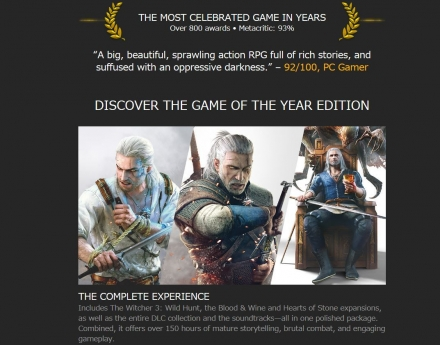 The Witcher 3 Wild Hunt - Game of the Year Edition-GOG