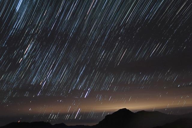 星の降る山(2)