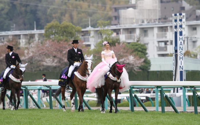 2014 阪神競馬場 桜花賞