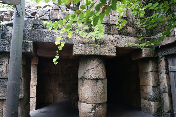 TDS 2015 インディジョーンズ・アドベンチャー 神殿入口