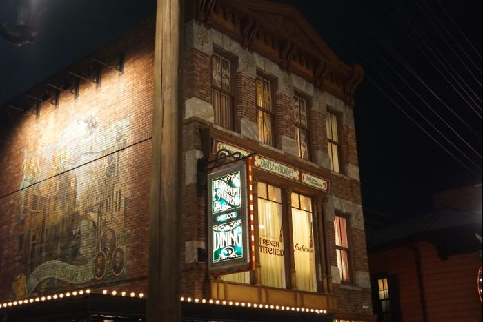 TDS 2015 アメフロ 夜景 ザンビーニ 壁画