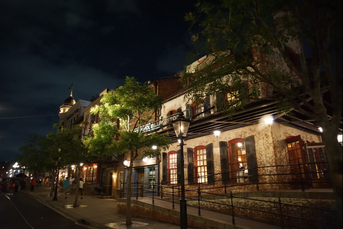 TDS 2015 アメフロ 夜景 ストリート