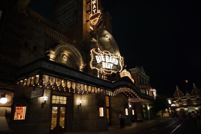 TDS 2015 アメフロ 夜景 ブロードウェイミュージックシアター ビッグバンドビート