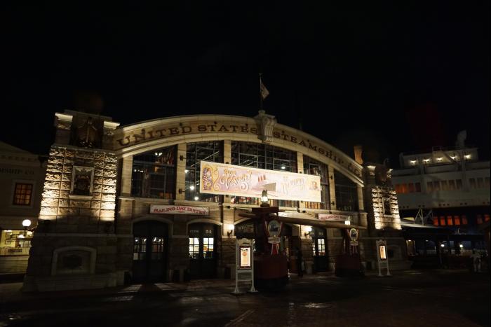 TDS 2015 アメフロ 夜景 スチームシップカンパニー セイリングデイビュッフェ