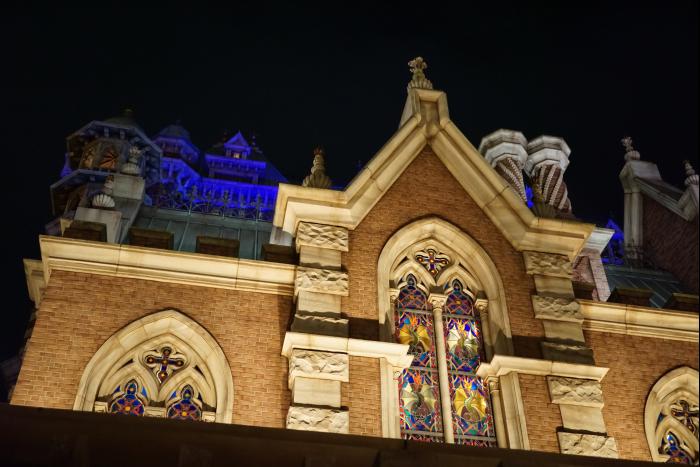 TDS 2015 アメフロ 夜景 タワーオブテラー