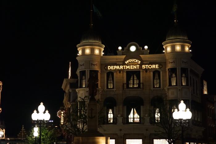 TDS 2015 アメフロ 夜景 マクダックスデパートメント