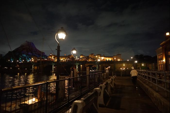 TDS 2015 アメフロ 夜景 波止場 レストラン櫻