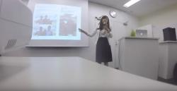 名古屋での勉強会でスピーチする中西先生