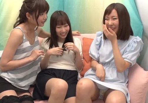アネとイモウトと碧しのオマ○コ同士!初レズ素股で絶頂体験!