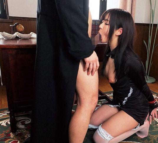 愛溢れる美少女シスター・彩乃ななが、どんな懺悔でも優しくHに救済しちゃう!性欲暴発寸前男に癒しの手コキ、献身的な慈愛SEXでおじいちゃんも介護!彩乃なな