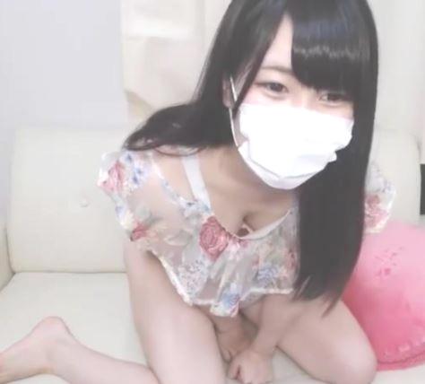 ライブチャット 清楚で綺麗で美乳な美少女がピンクなお尻出してエロ生配信【素人/エロ動画】