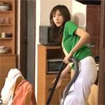 【立花里子】家事中に男に襲われ、抵抗するが結局はアへ顔に…。