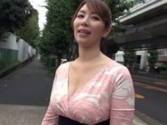 【翔田千里】大人気美熟女のテクニックに10分間射精を我慢出来たら生姦中出しOK!結果は・・・