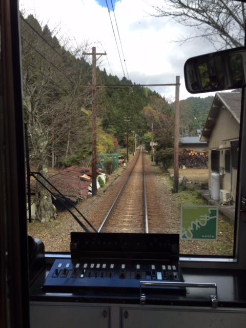鞍馬までの電車の中2