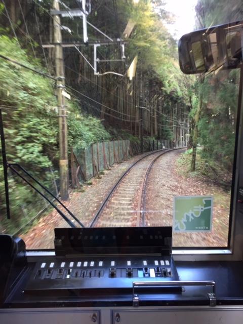 鞍馬までの電車の中1